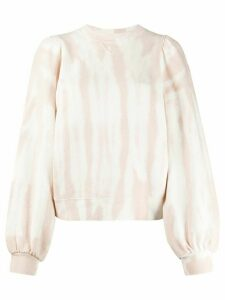 Ulla Johnson Carmen tie-dye print sweatshirt - PINK