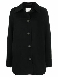 Acne Studios double-faced overshirt - Black