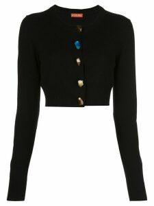 Altuzarra Wellmore stone embellished cardigan - Black
