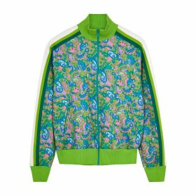 Marc Jacobs Paisley-print Stretch-jersey Track Jacket