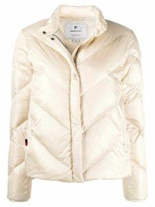 Woolrich zipped padded jacket - NEUTRALS