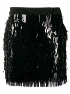 Pinko sequin fitted skirt - Black