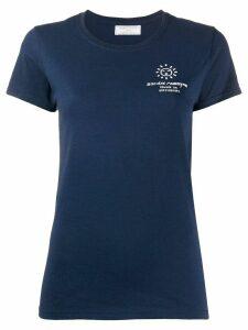 Société Anonyme short sleeve logo T-shirt - Blue