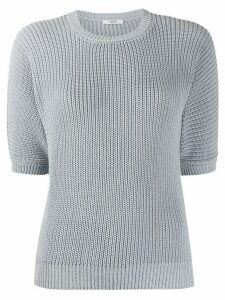 Peserico embellished knit jumper - Blue