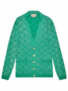 Gucci GG wool cardigan - Green