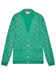 Gucci GG wool cardigan - Green
