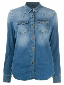 Pinko denim long sleeve shirt - Blue