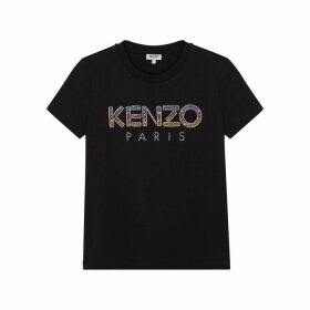 Kenzo Logo-embellished Cotton T-shirt