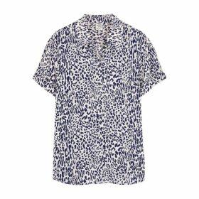 Baum Und Pferdgarten Off-white Leopard-print Shirt