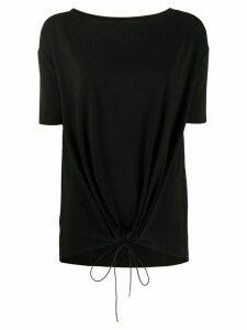 Fabiana Filippi Jed drawstring T-shirt - Black