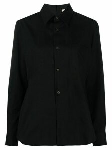 Comme Des Garçons long-sleeve fitted shirt - Black