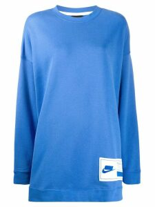 Nike NSW oversized sweatshirt - Blue
