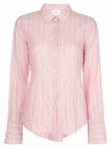 Cinq A Sept Marisol striped-print shirt - PINK
