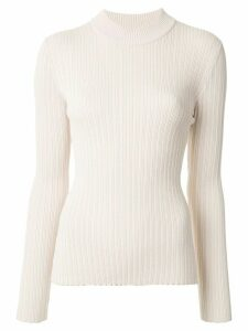 CAMILLA AND MARC Mia ribbed slim-fit jumper - White