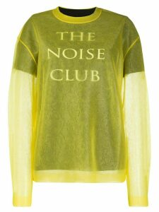 McQ Alexander McQueen The Noise Club jumper - Yellow
