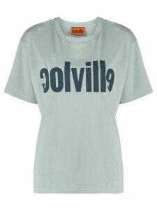 colville boxy fit logo print T-shirt - Grey