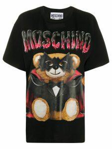 Moschino Bat Teddybear oversized T-shirt - Black