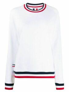 Rossignol round neck sweatshirt - White