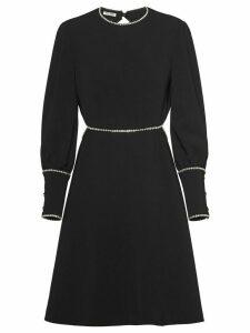 Miu Miu Cady mini dress - Black