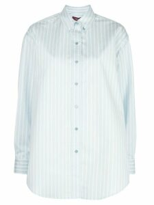 Sies Marjan Kiki oversized striped shirt - Blue