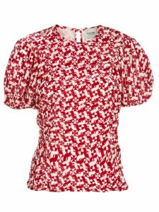 Rachel Comey Hairpin geometric-print blouse - Red