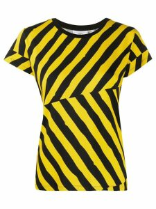 Rossignol striped T-shirt - Yellow