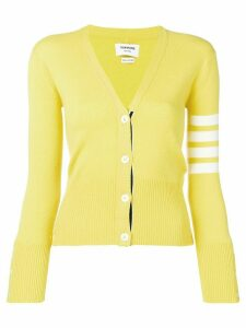 Thom Browne Classic 4-Bar Cashmere Cardigan - Yellow