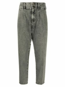 Current/Elliott cropped tapered trousers - Grey