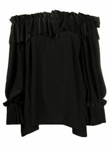 P.A.R.O.S.H. off the shoulder blouse - Black