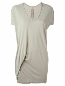 Rick Owens draped top - NEUTRALS