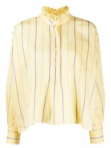 Isabel Marant Étoile striped print blouse - Yellow