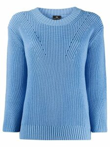 PS Paul Smith long-sleeve fitted jumper - Blue