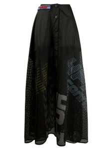 Faith Connexion mesh maxi skirt - Black