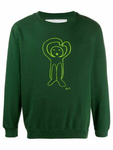 Société Anonyme cartoon print sweatshirt - Green