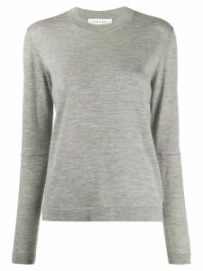 Falke cashmere long-sleeve jumper - Grey