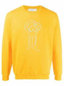 Société Anonyme cartoon print sweatshirt - Yellow