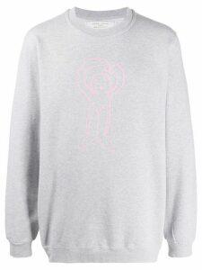 Société Anonyme cartoon print sweatshirt - Grey