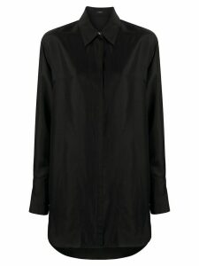 Joseph loose-fit silk shirt - Black