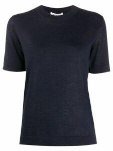 Falke cashmere short-sleeve jumper - Blue