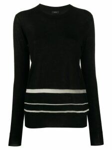 Joseph Cashair knit jumper - Black