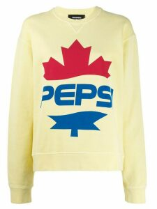 Dsquared2 #D2XPepsi logo print sweatshirt - Yellow
