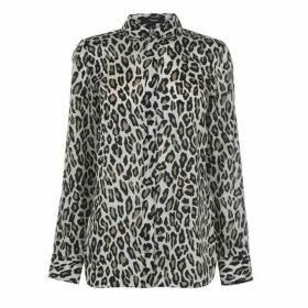 Theory Theory WomenS Leopard Shirt