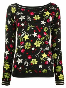 LIU JO Star Luck jumper - Black