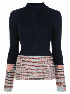 M Missoni mix pattern jumper - Blue