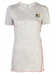 M Missoni appliqué logo T-shirt - Multicolour