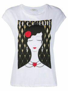 Twin-Set Le Coeur print T-shirt - White