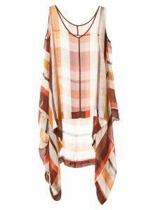Taylor Pathways Oblique tunic top - Multicolour