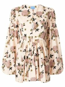 Macgraw Hibernation floral print blouse - PINK