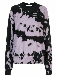 Proenza Schouler White Label tie-dye sweatshirt - Black