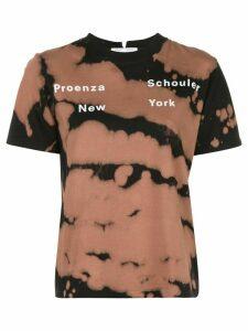 Proenza Schouler White Label tie-dye print T-shirt - Black